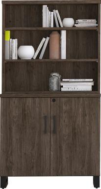 Mckelvey Brown Bookcase