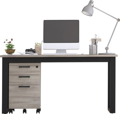 Mckelvey Gray 2 Pc. Office Set
