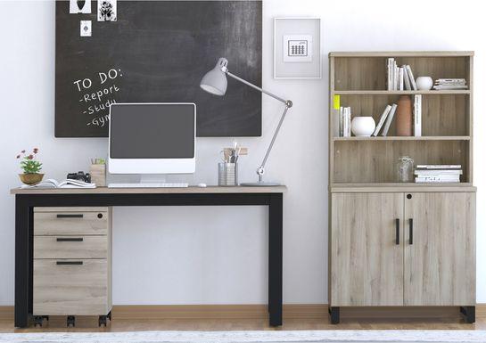 Mckelvey Gray 3 Pc. Office Set