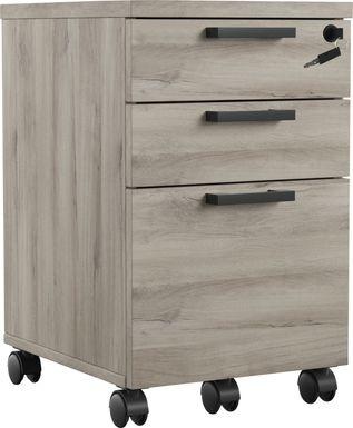 Mckelvey Gray File Cabinet