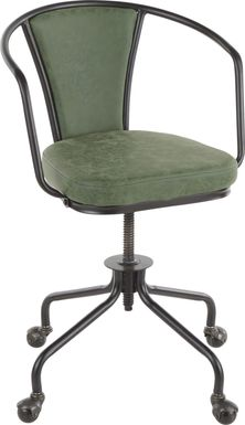 Mediamolle Green Office Chair