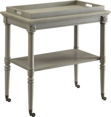 Mendel Gray Accent Table