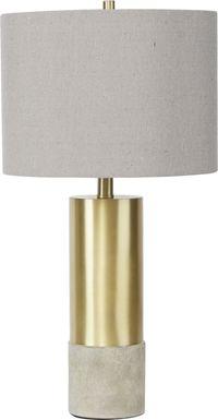 Menden Gold Lamp