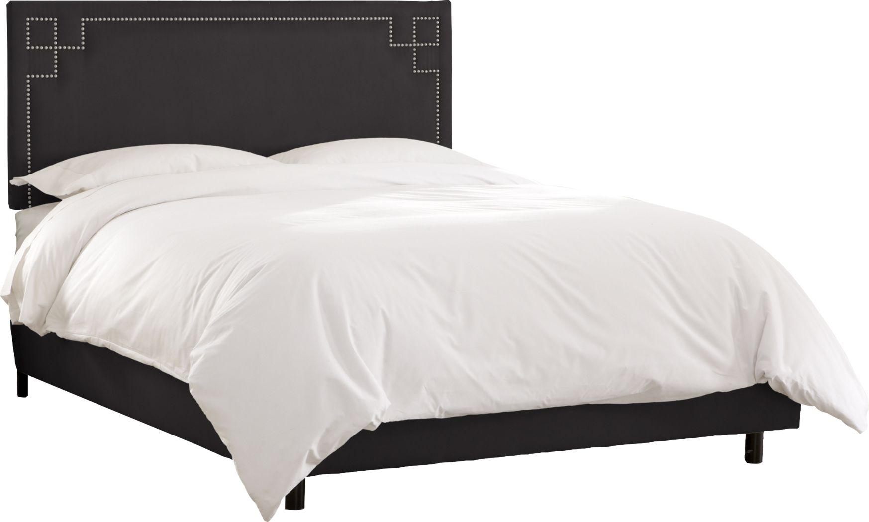 Mendon Bluff Black 3 Pc Queen Bed