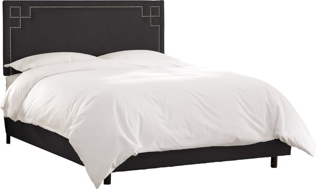 Mendon Bluff Black 3 Pc Queen Bed