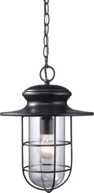Menola Black Outdoor Chandelier
