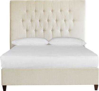 Mensano Beige King Bed