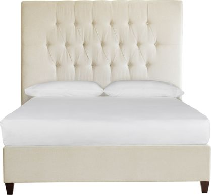 Mensano Beige Queen Bed