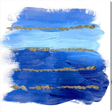 Mercury's Winds Blue Artwork