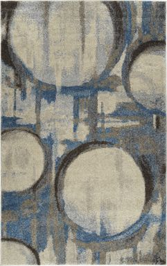 Merridan Blue 5' x 8' Rug
