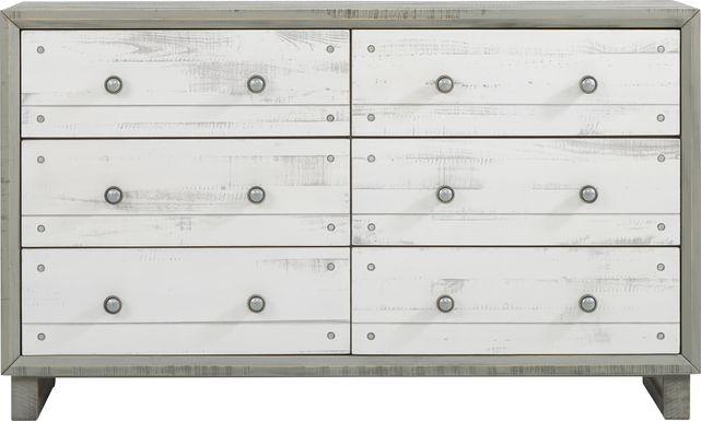 Merriwood Hills Gray Dresser