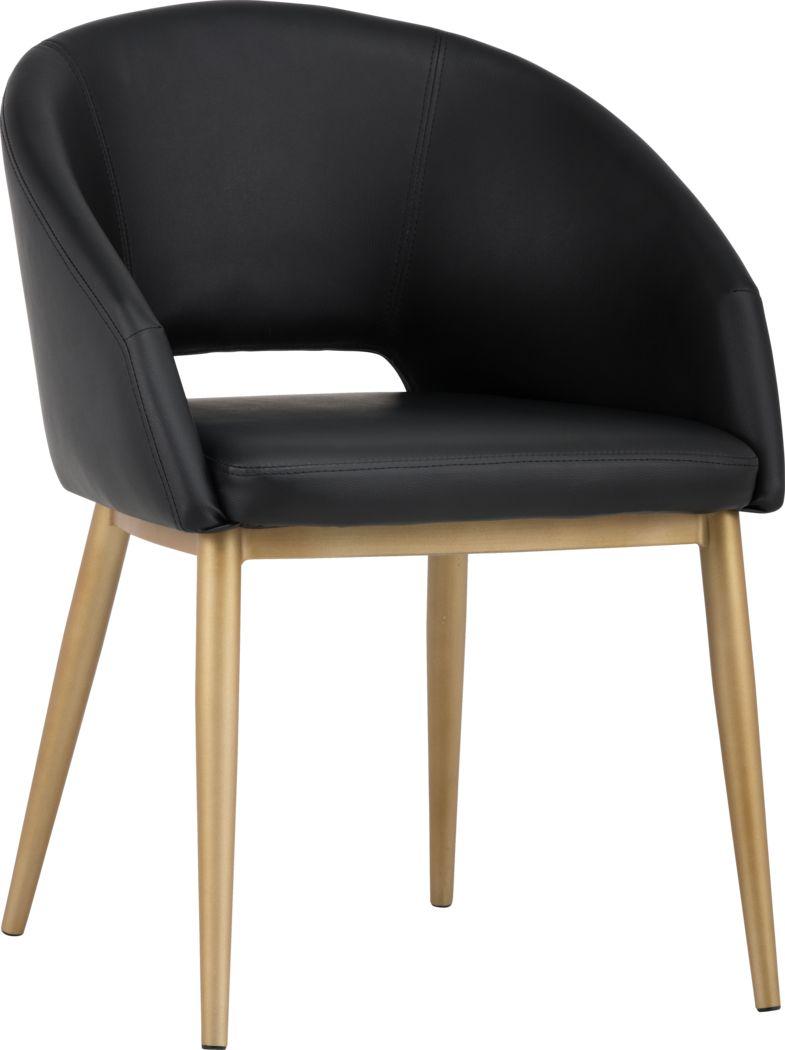 Mersey Black Dining Chair
