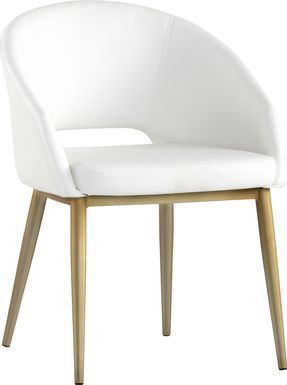 Mersey White Dining Chair