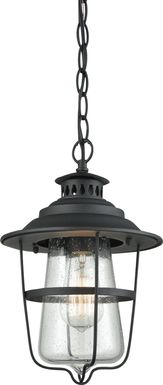 Merton Black Outdoor Chandelier