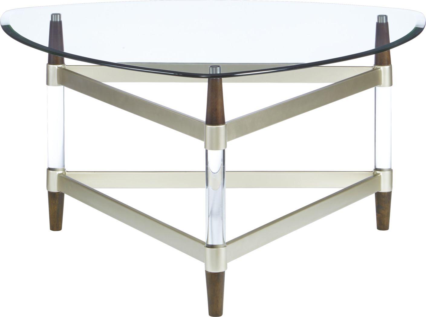 Mervine Silver Cocktail Table