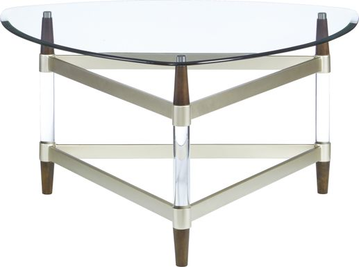 Mervine Silver Cocktail Table