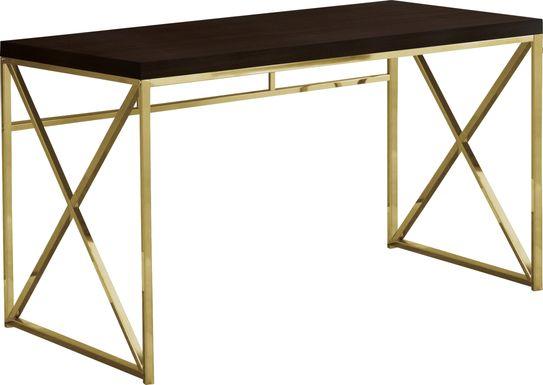 Merwick Cappuccino Desk