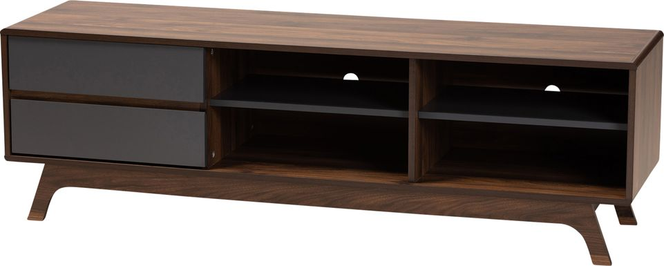 Meyrick Walnut 59 in. Console