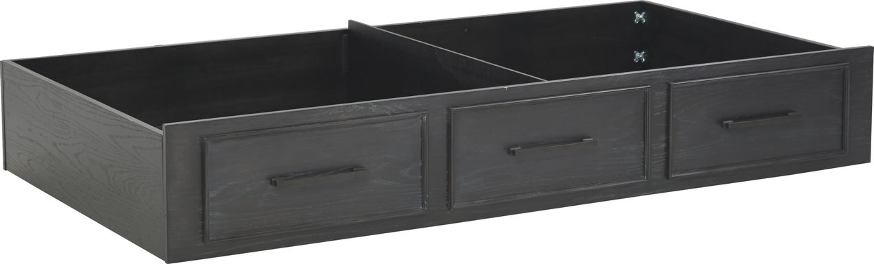 Midcity Loft Carbon Twin Storage Trundle