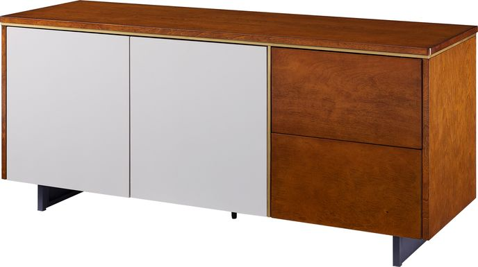 Midhurst Brown 55 in. Console
