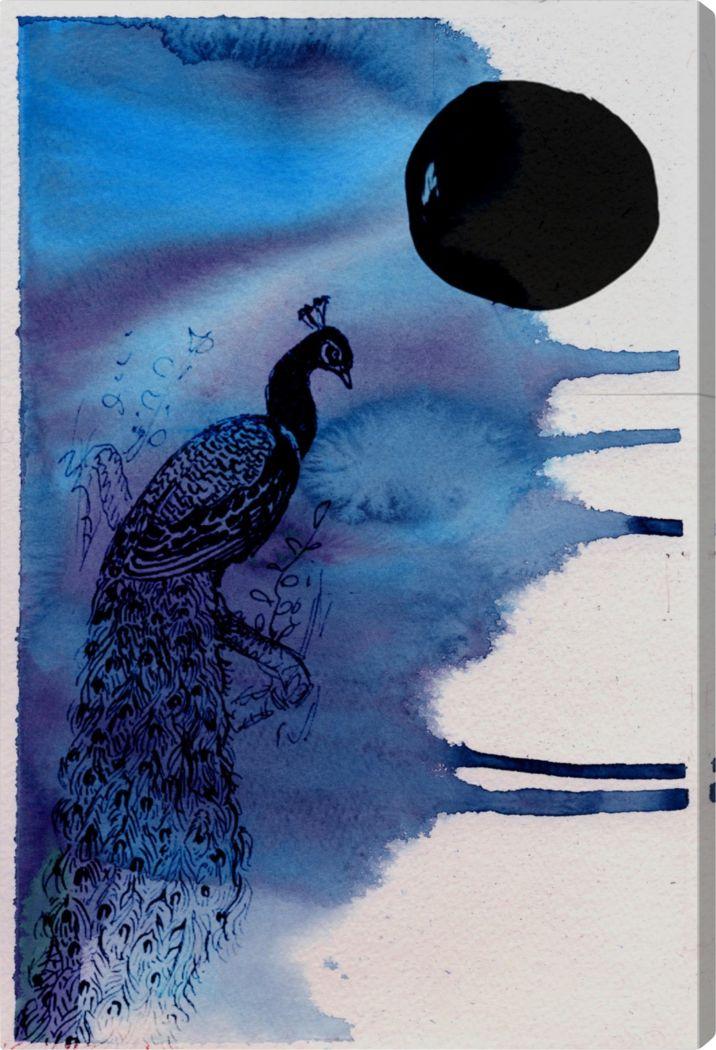 Midnight Radiance Blue Artwork