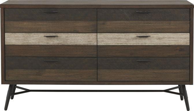 Midtown Loft Brown Dresser