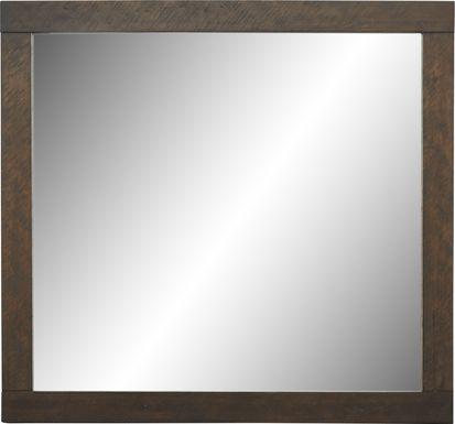 Midtown Loft Brown Mirror