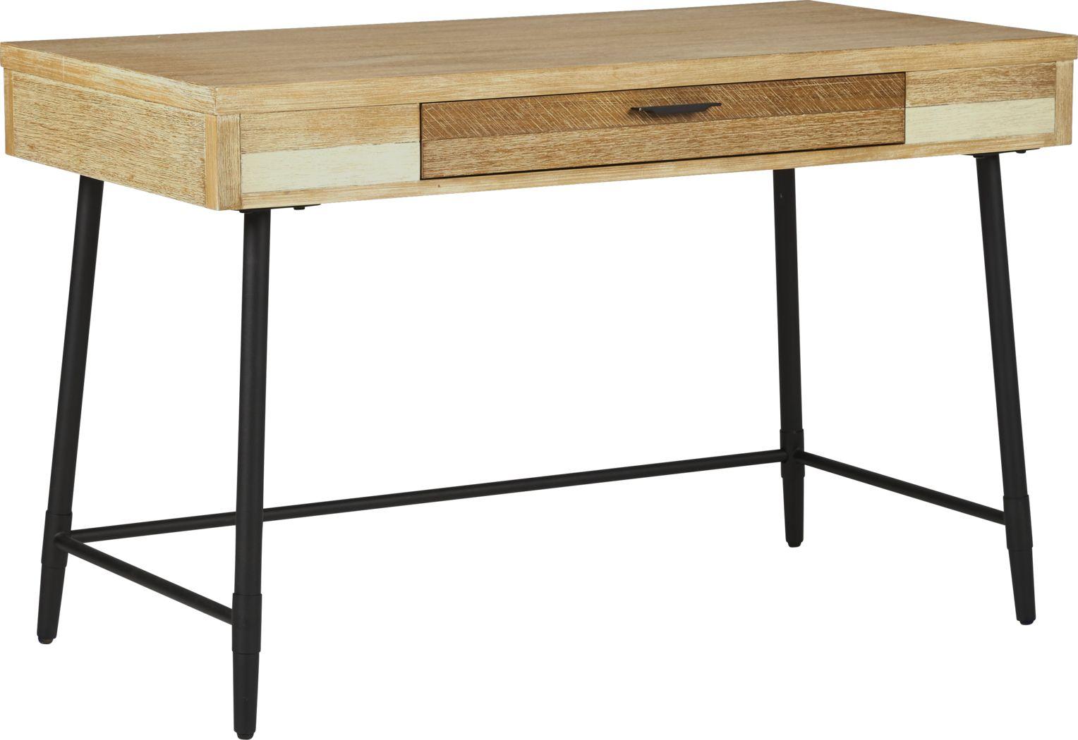 Midtown Loft Natural Desk