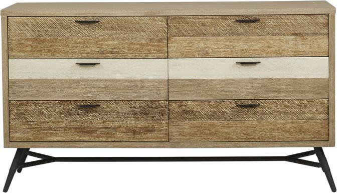 Midtown Loft Natural Dresser