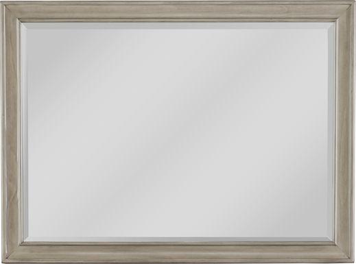 Mill Valley II Gray Mirror