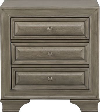 Mill Valley II Gray Nightstand