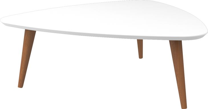 Millay White Cocktail Table