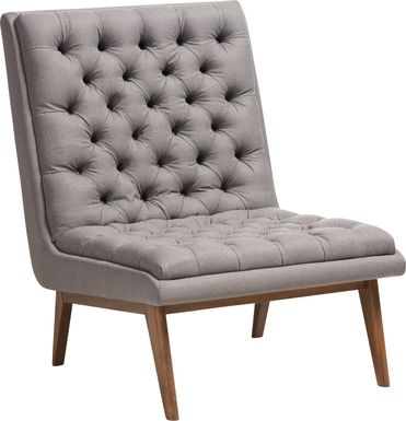Minneha Gray Accent Chair