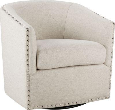 Minturn Natural Accent Swivel Chair