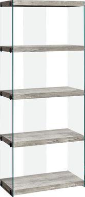 Mitchwin Dark Gray Bookcase