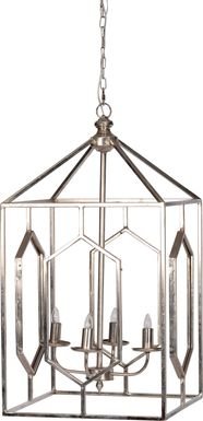 Monarch Mills Silver Chandelier