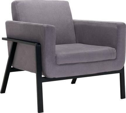 Monasty Gray Accent Chair