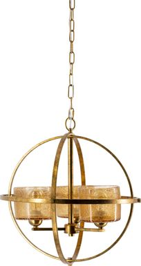 Monier Point Gold Chandelier