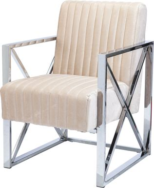 Moniteau Champagne Accent Chair