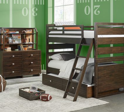 Monroe Valley Brown Twin/Twin Bunk