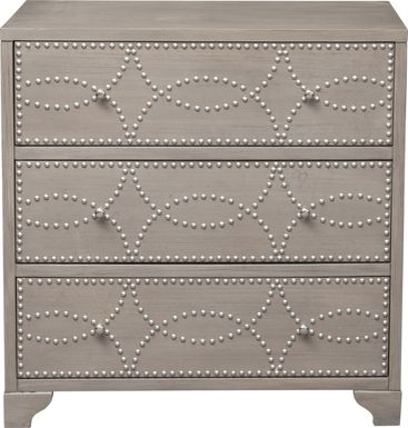 Monsale Gray Accent Cabinet