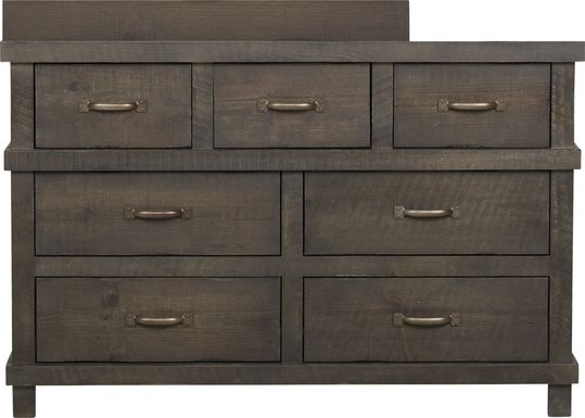 Montana Espresso Dresser with Changing Topper and Pad