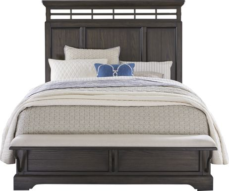 Montana Ridge Brown 3 Pc Queen Panel Bed