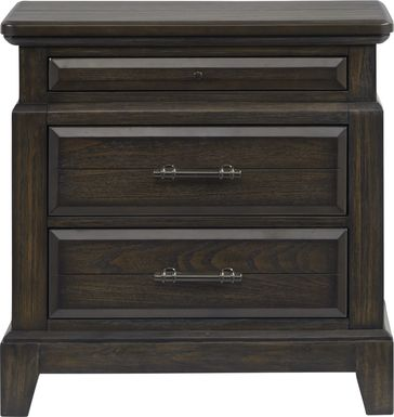 Montana Ridge Brown Nightstand
