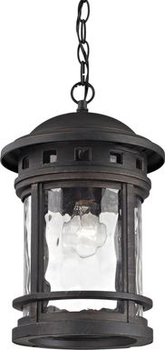 Morehead Black Outdoor Chandelier