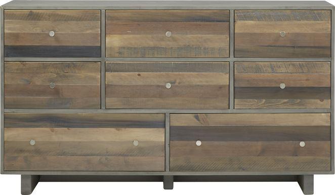 Moss Creek Gray Dresser