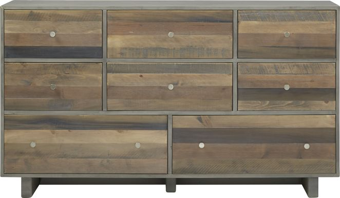 Moss Creek Gray Dresser