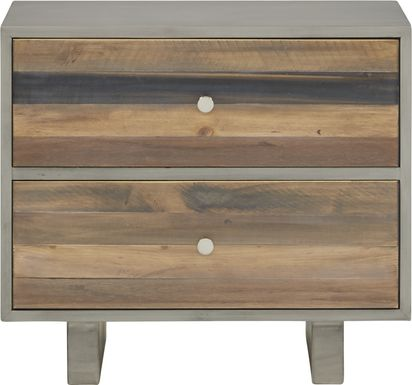 Moss Creek Gray Nightstand