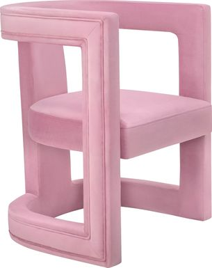Munsey Pink Accent Chair