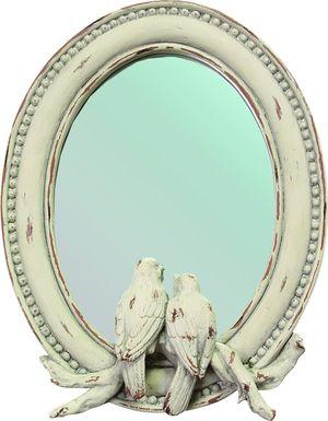 Nalanie Ivory Mirror